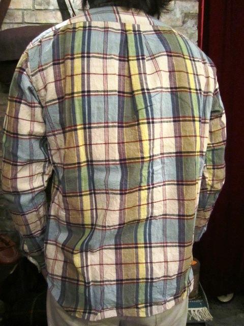 "melple \""オーシャンサイド チェックシャツ\"" ご紹介_f0191324_9295693.jpg"