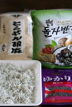 韓国海苔ふりかけを使った自家製ふりかけ_b0048834_6542217.jpg