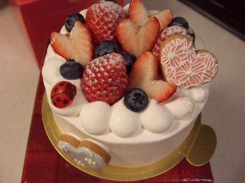 デコレーションケーキなど_e0160246_904619.jpg