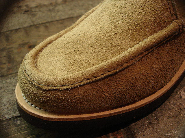 "NEW : RUSSELL MOCCASIN CO. [Knock-A-Bout Boot with Strap] ""Laramie Suede\"" !!_a0132147_211516.jpg"