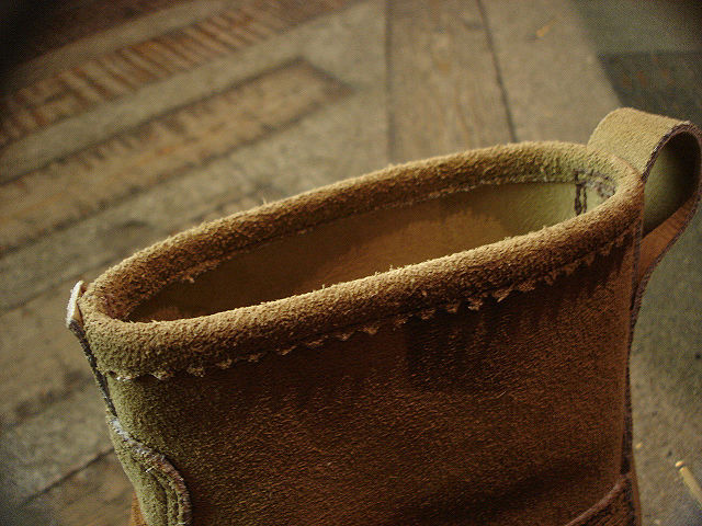 "NEW : RUSSELL MOCCASIN CO. [Knock-A-Bout Boot with Strap] ""Laramie Suede\"" !!_a0132147_21368.jpg"