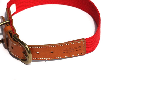 GEORGE LETHER TABS COLLAR ジョージ レザー タブス カラー_d0217958_1133660.jpg
