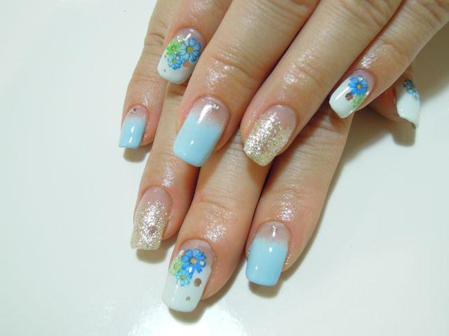 Bule Flower Nail_a0239065_9491918.jpg