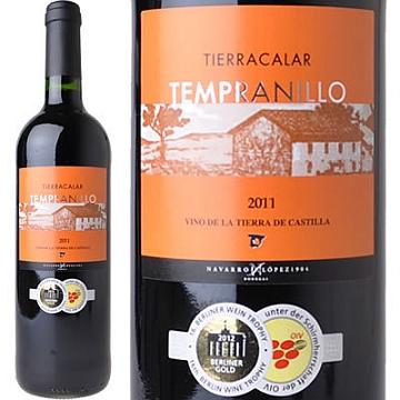 ティエラカラール テンプラニーリョ 2011 (スペイン・赤)_d0036883_1565174.jpg