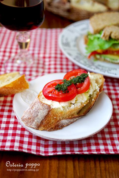 手作りリコッタチーズで☆ Vegyなサンドイッチなどなど_d0159001_17405526.jpg