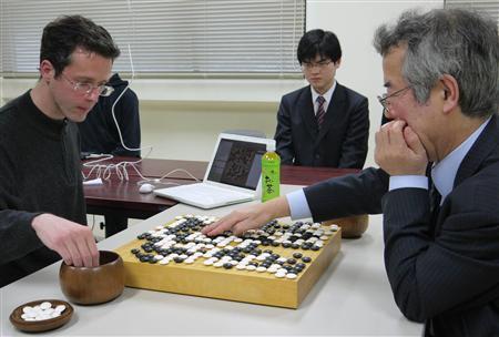 「アマ六段の力。天才かも」囲碁棋士、コンピューターに敗れる 初の公式戦_b0064113_48230.jpg