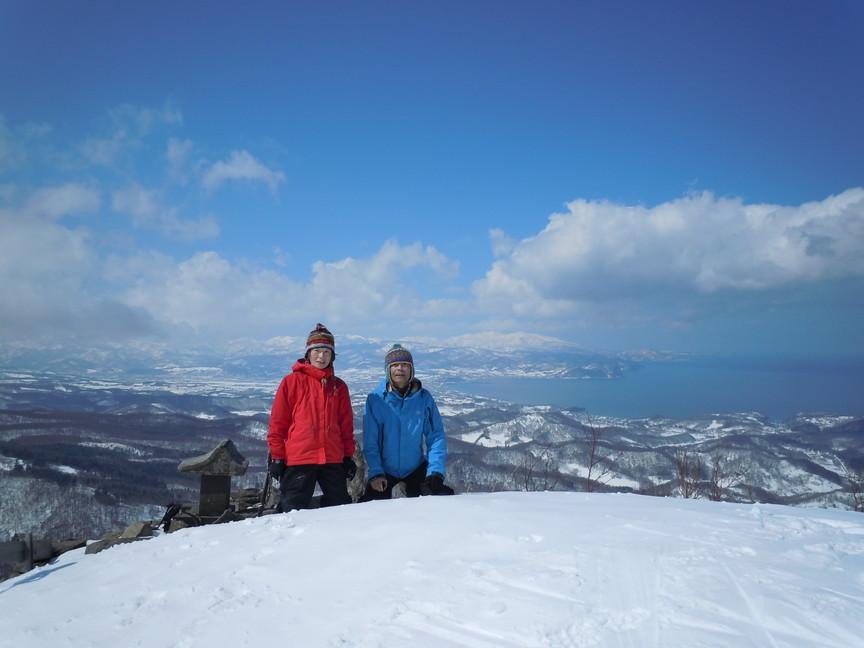 2013年3月 March, 2013  塩谷丸山春スキー Ski in the spring_c0219616_17154315.jpg