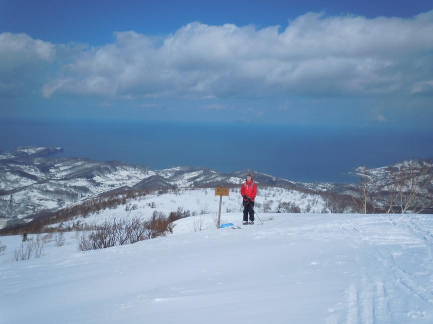 2013年3月 March, 2013  塩谷丸山春スキー Ski in the spring_c0219616_1725753.jpg