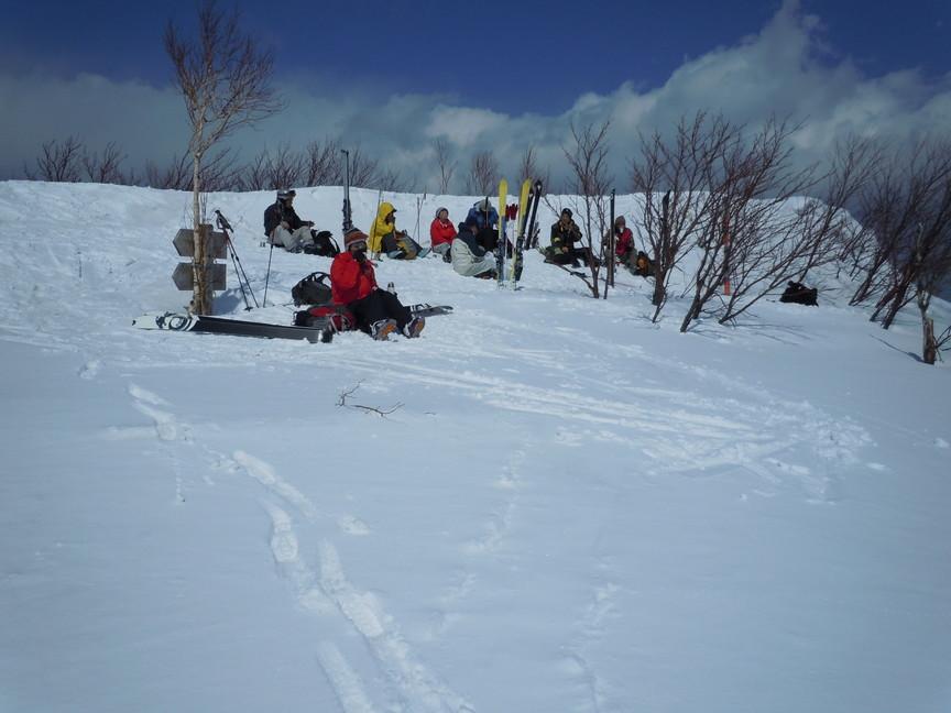 2013年3月 March, 2013  塩谷丸山春スキー Ski in the spring_c0219616_1745943.jpg