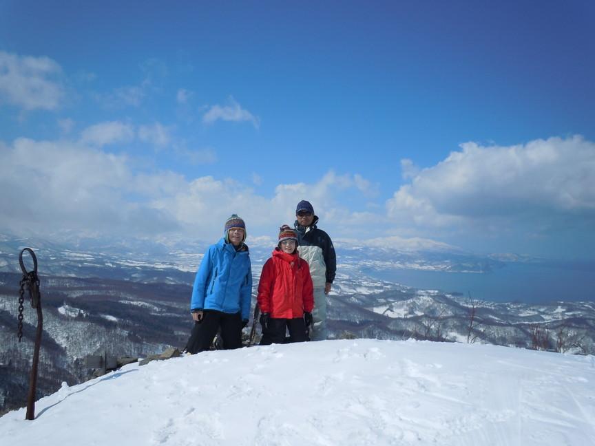 2013年3月 March, 2013  塩谷丸山春スキー Ski in the spring_c0219616_1775285.jpg