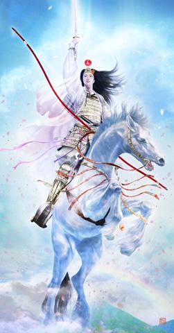 「常山の鶴姫」_b0145843_045588.jpg