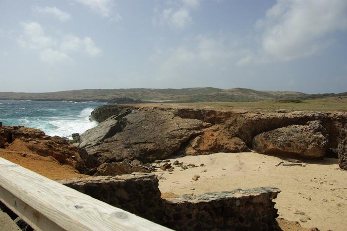オランダ領アンティール諸島アルーバ-3 ナチュラルブリッジ  Antilles Aruba-3 Natural Bridge_e0140365_1452190.jpg