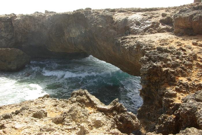 オランダ領アンティール諸島アルーバ-3 ナチュラルブリッジ  Antilles Aruba-3 Natural Bridge_e0140365_157375.jpg