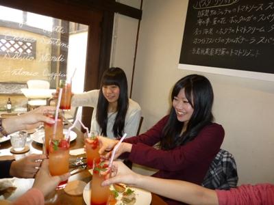イタリア食堂クッチョロで、長女の合格祝いをして、さあ新年度!_e0188087_21362915.jpg