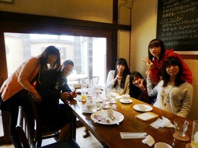 イタリア食堂クッチョロで、長女の合格祝いをして、さあ新年度!_e0188087_214857.jpg