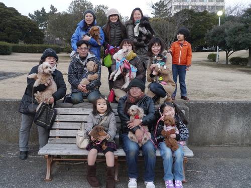 毎日の散歩は、お友達ワンちゃんたちと_b0175688_22435898.jpg