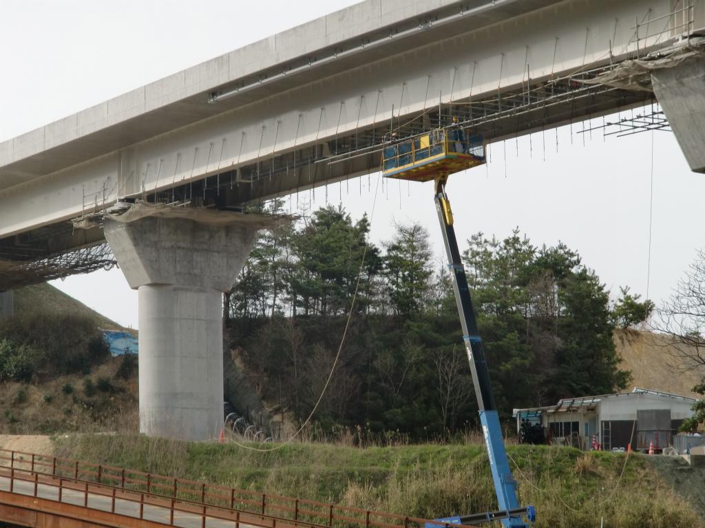 黒河川橋(床面足場解体工)_d0172802_20323297.jpg