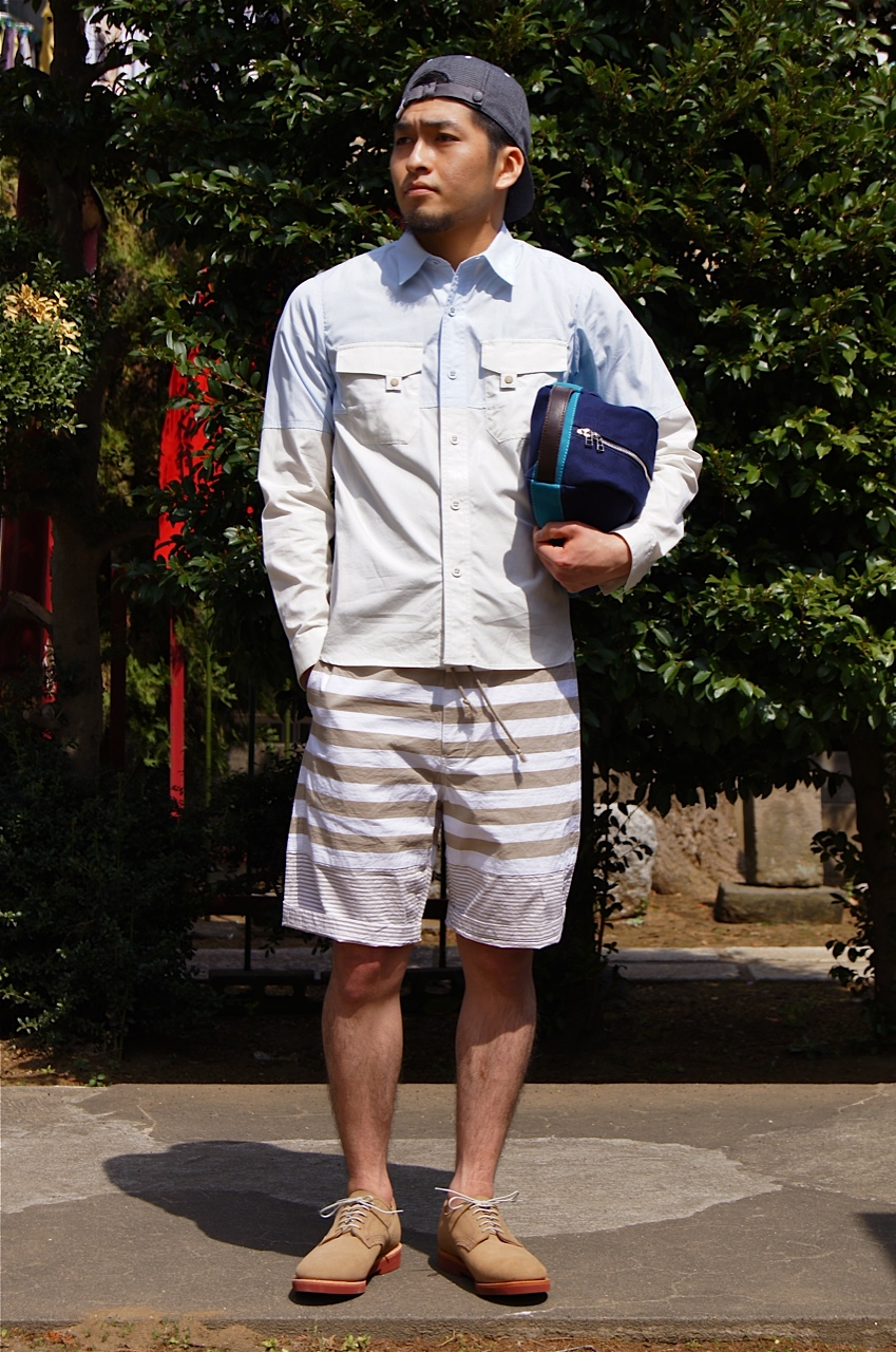 White Mountaineering, N.HOOLYWOOD - COAT & SHORTS!!_f0020773_20501357.jpg
