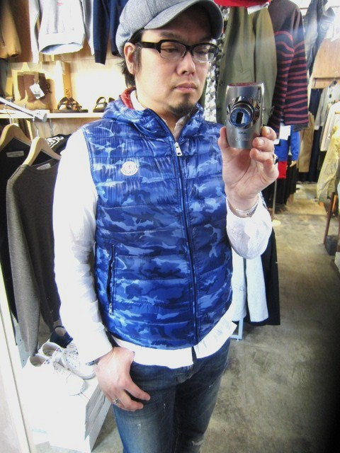 春MONCLER ・・・ GAMME BLEU Collection  TRACK JACKET etc.._d0152280_2142389.jpg