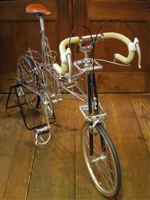Alex Moulton Single Pylon (Vintage Campagnolo 仕様)_e0132852_19262520.jpg