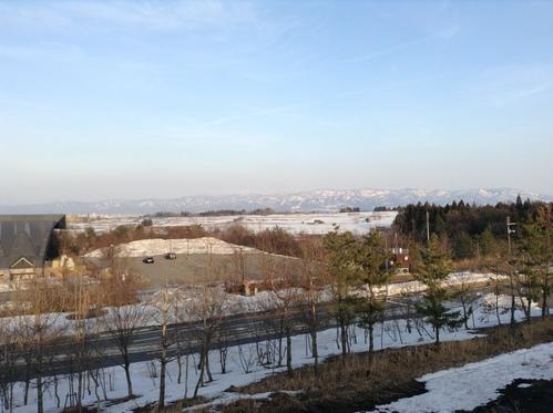 今年は雪解けが早そうです_e0266363_1362580.jpg