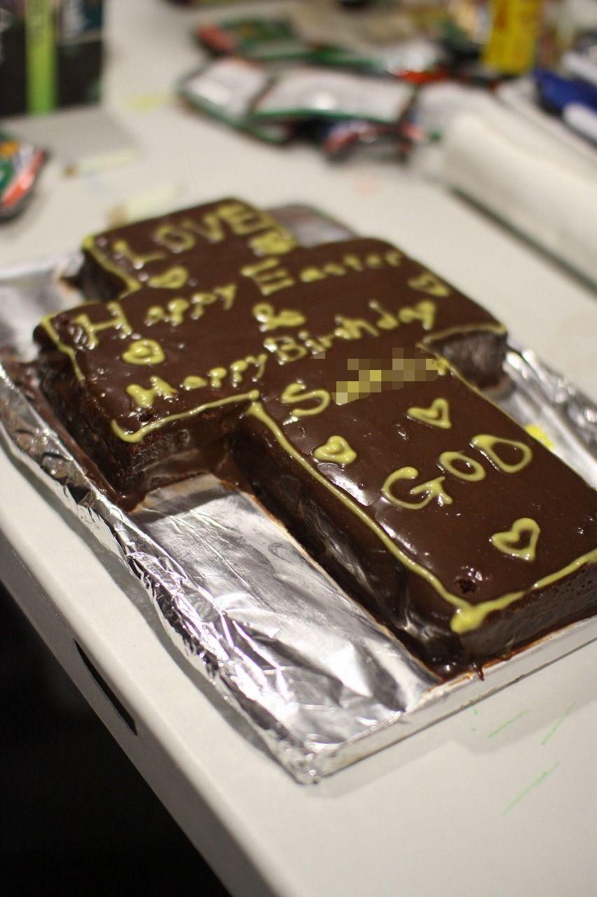 チェリストちゃんのお誕生ケーキ。_f0234165_10405477.jpg
