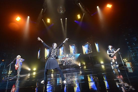 """ムック""""Shangri-La""""ツアーファイナル公演NHKホールで3000人が熱狂_e0197970_17262744.jpg"""