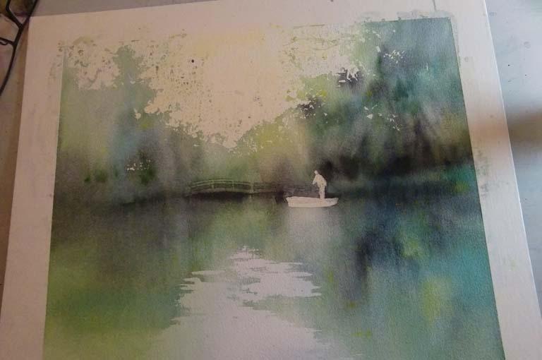 柳川 水彩画_f0176370_1752014.jpg