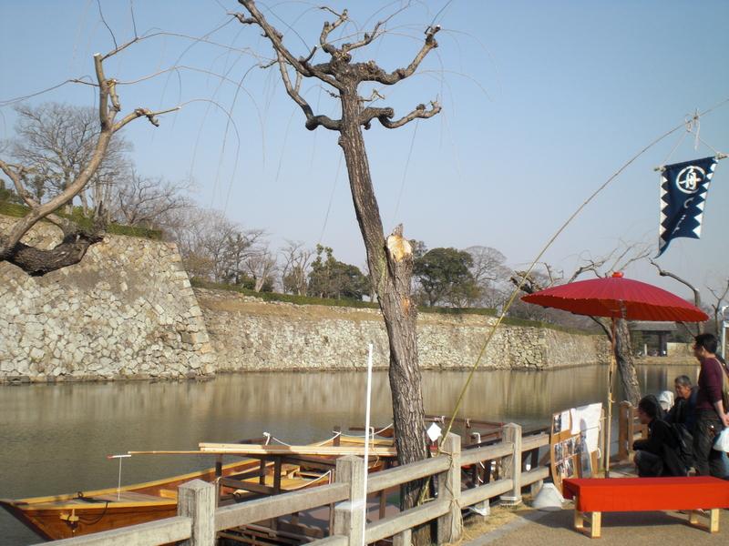 姫路城のお濠に和船 その1 船大工さんに聞いてみた_c0013687_052193.jpg
