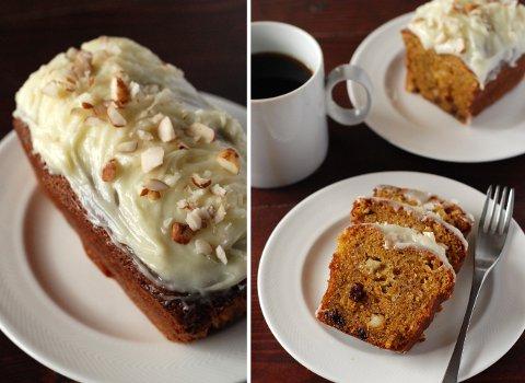 アメリカンな甘さの、キャロットバナナケーキ_b0253205_891181.jpg