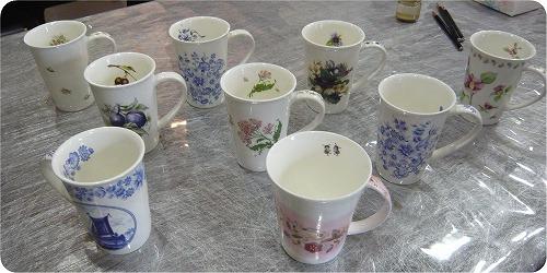 ポーセリングでマイカップを作ろう★_f0223914_213378.jpg