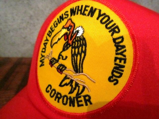 "MASACA HAT \""CORONER MESH CAP\"" ご紹介_f0191324_10455630.jpg"