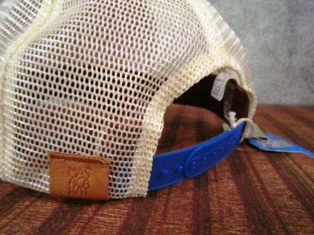 "MASACA HAT \""CORONER MESH CAP\"" ご紹介_f0191324_10461978.jpg"
