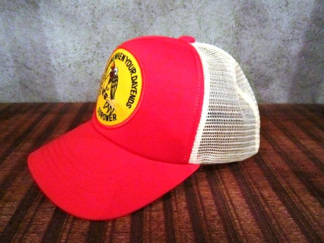 "MASACA HAT \""CORONER MESH CAP\"" ご紹介_f0191324_1046977.jpg"