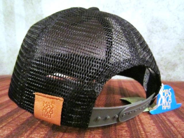 "MASACA HAT \""CORONER MESH CAP\"" ご紹介_f0191324_10474013.jpg"