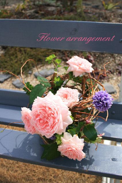 春のアレンジメントレッスン_e0286978_63973.jpg