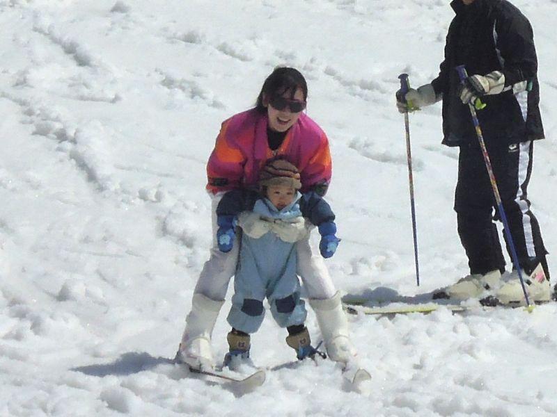 春スキー_e0030586_18355312.jpg