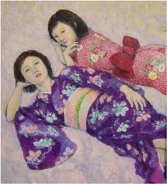 2013/5/22~27 齊藤純子油彩画展 「春から夏へ」 【絵画】_e0091712_7481152.jpg