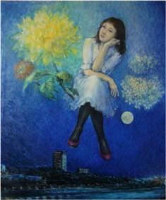 2013/5/22~27 齊藤純子油彩画展 「春から夏へ」 【絵画】_e0091712_7515626.jpg