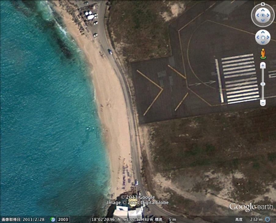 世界一危険なビーチ発見!:その名も「プリンセス・ジュリアナ国際空港海水浴場」_e0171614_10572546.jpg