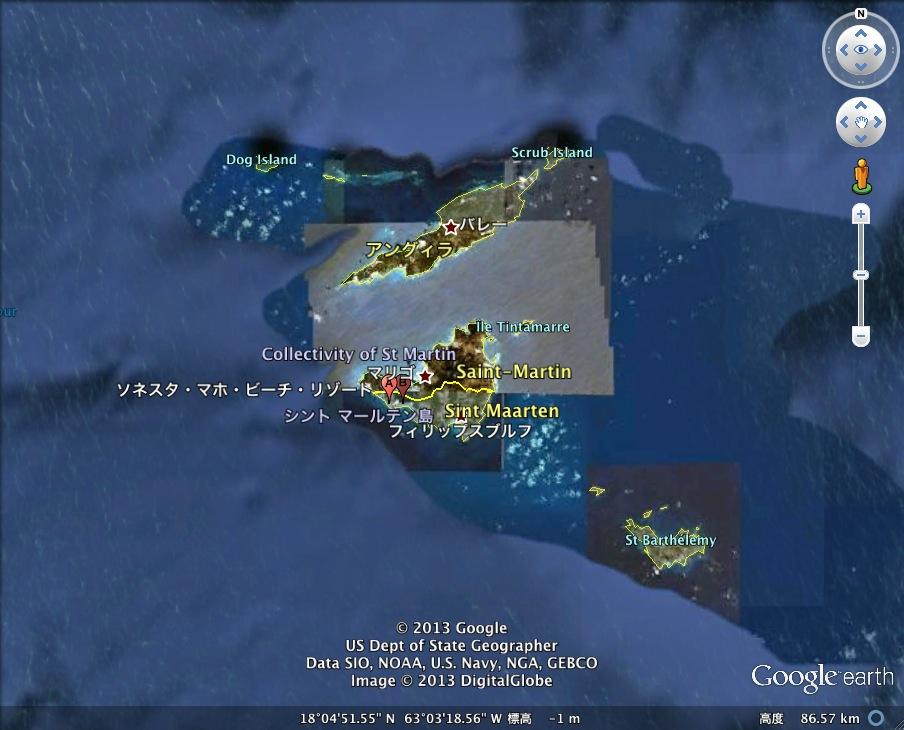 世界一危険なビーチ発見!:その名も「プリンセス・ジュリアナ国際空港海水浴場」_e0171614_12445564.jpg