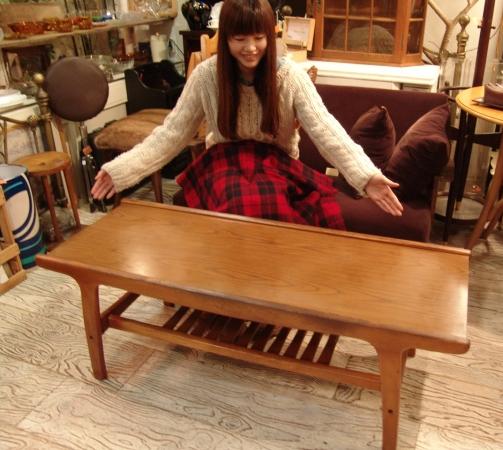 木のセンターテーブル入荷です!●世田谷・若林店●_a0096367_2215629.jpg