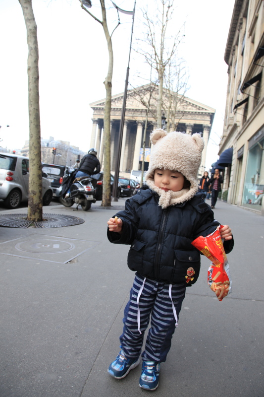 パリ 分割払いの旅 マドレーヌ寺院_c0187779_782885.jpg
