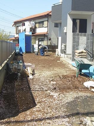 ブロック塀工事と道路使用許可申請_a0148909_1719414.jpg