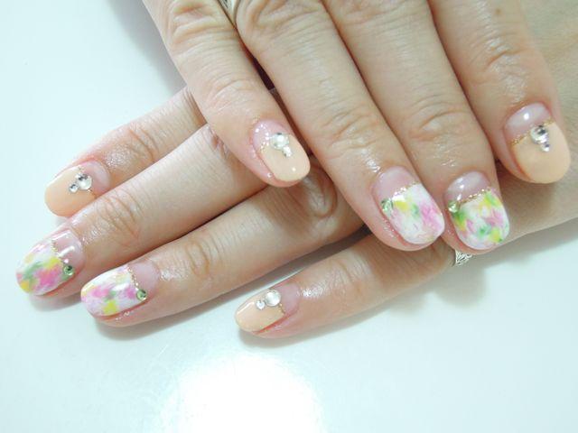 Marble Nail_a0239065_16532544.jpg