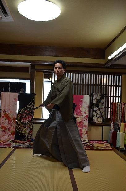 袴でリハーサル_d0230676_17212630.jpg