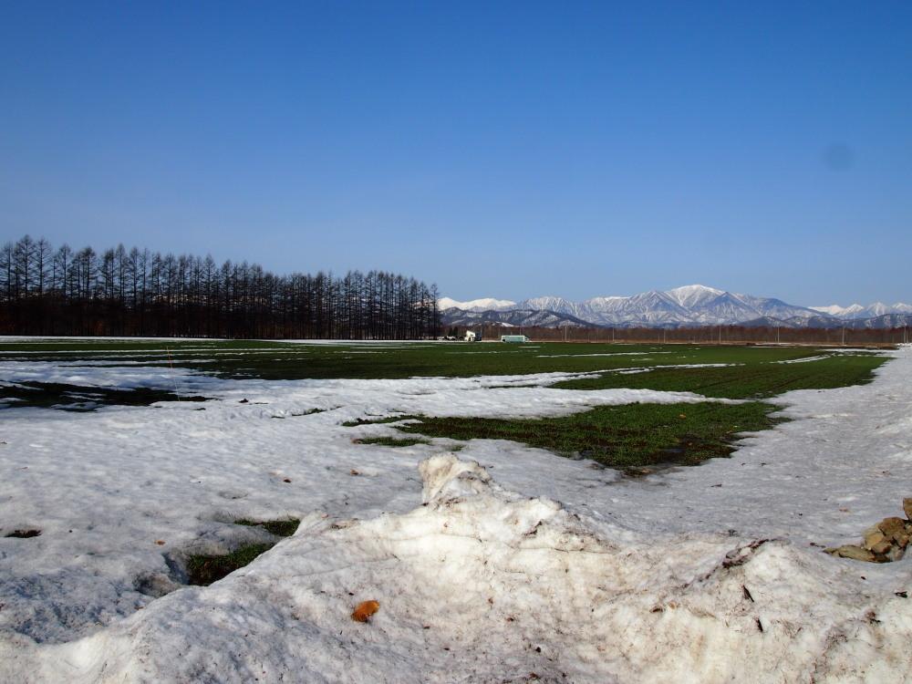 4月、雪どけ進む・・中札内村の農村風景_f0276498_12113545.jpg