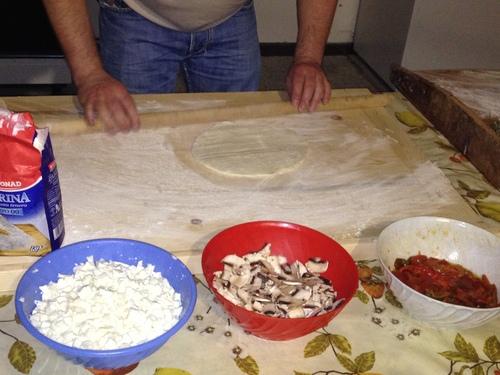 Pizzaを焼く_e0186099_6475822.jpg