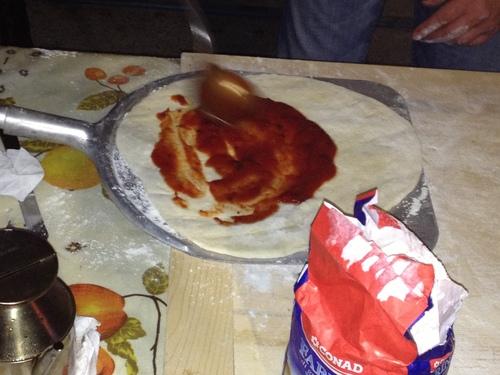 Pizzaを焼く_e0186099_6535194.jpg