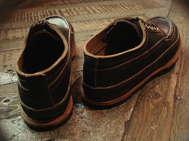 "NEW : RUSSELL MOCCASIN CO. [MINIMALIST HURON] ""Espresso Navigator\"" _a0132147_17396.jpg"